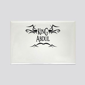 King Abdul Rectangle Magnet