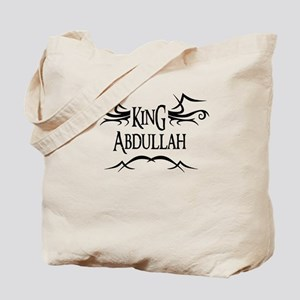 King Abdullah Tote Bag