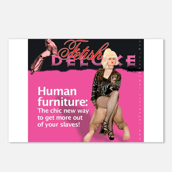Human Furniture Postcards (Package of 8)