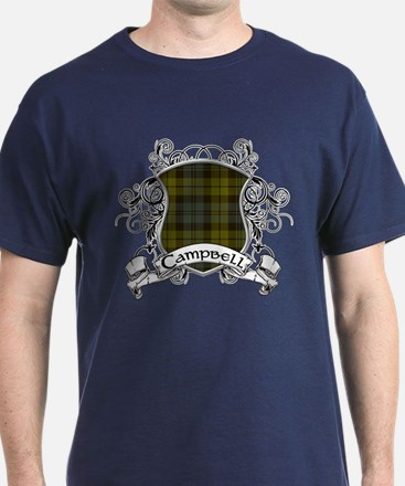 Campbell Tartan Shield T-Shirt