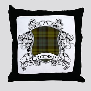 Campbell Tartan Shield Throw Pillow