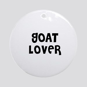 GOAT LOVER Ornament (Round)