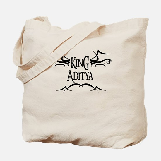 King Aditya Tote Bag