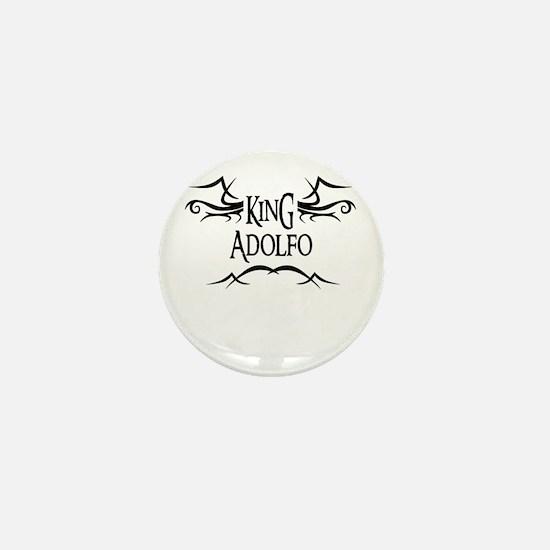 King Adolfo Mini Button