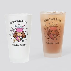 Kindergarten Graduation Princess Drinking Glass