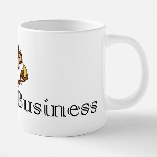 2-monkey business.gif 20 oz Ceramic Mega Mug