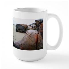 Rain Scape Large Mug