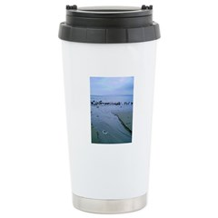 Solitude Beach II Stainless Steel Travel Mug