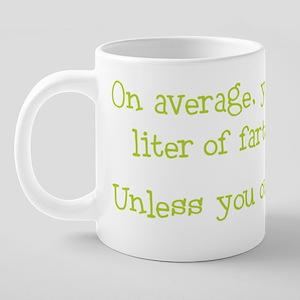 ONE_LITER_LIME 20 oz Ceramic Mega Mug
