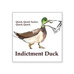 I. Duck QQSQQ Sticker