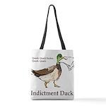 I. Duck QQSQQ Polyester Tote Bag