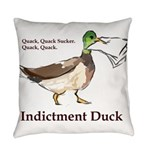 I. Duck QQSQQ Everyday Pillow