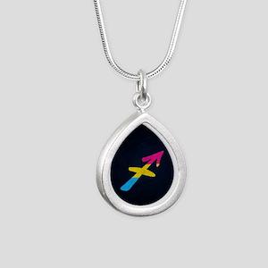 Pansexual Pride Flag Sagittarius Zodiac Necklaces