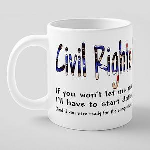 civilrightsreciprocity 20 oz Ceramic Mega Mug