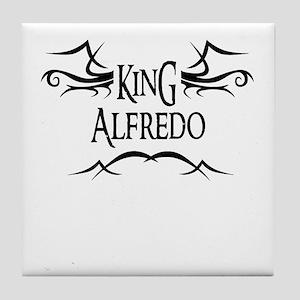 King Alfredo Tile Coaster
