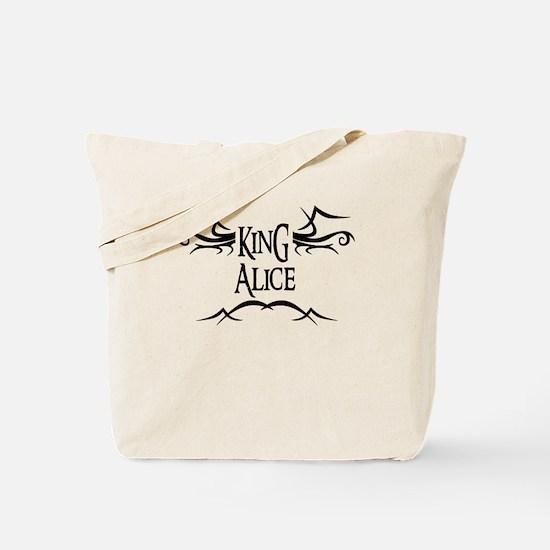 King Alice Tote Bag