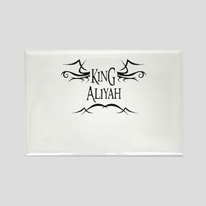 King Aliyah Rectangle Magnet
