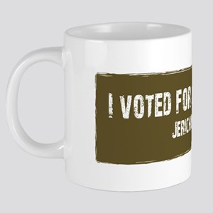 3-I voted for johnston2 20 oz Ceramic Mega Mug