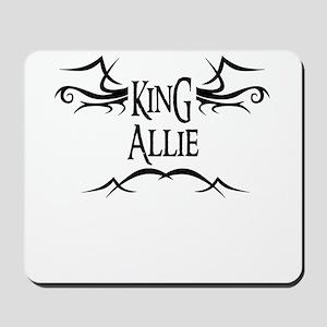 King Allie Mousepad