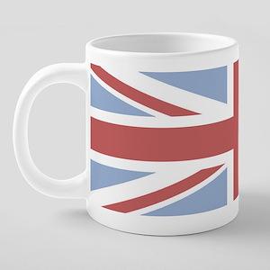 union-flag-washed-out-mug-w 20 oz Ceramic Mega Mug