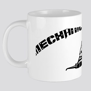 Mechanic On Duty 20 oz Ceramic Mega Mug