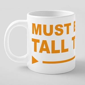 TALL 20 oz Ceramic Mega Mug