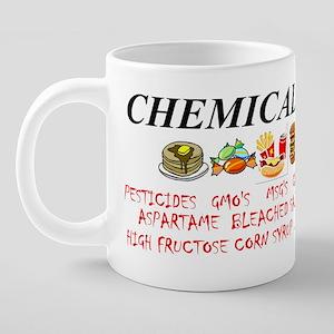 chemical weapons 20 oz Ceramic Mega Mug