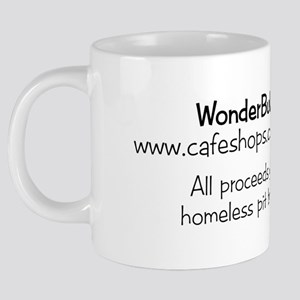 wonderbull_brad2back 20 oz Ceramic Mega Mug