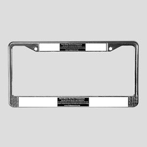 Voluntaryist License Plate Frame