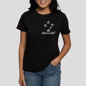 Women's Dark T-Shirt, Samoa Ink Samoan Stars