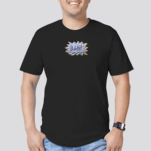 BAM! Distressed look Emeril Men's Fitted T-Shirt (