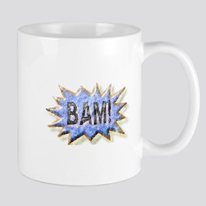 BAM! Distressed look Emeril Mug