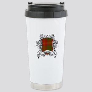 Burns Tartan Shield Stainless Steel Travel Mug
