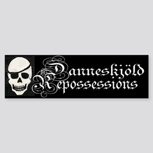 Danneskjold Repossessions Bumper Sticker