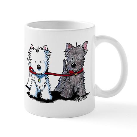 Walking Buddy Terriers Mug