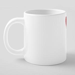 DETROITwhite 20 oz Ceramic Mega Mug
