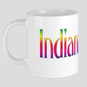 indianapolis-funky 20 oz Ceramic Mega Mug