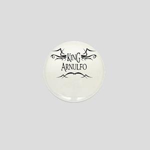 King Arnulfo Mini Button