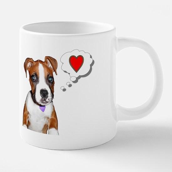 Josie_Puppy_Small Mug3.tif 20 oz Ceramic Mega Mug