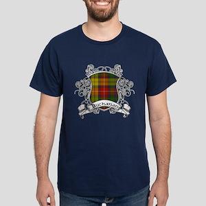 Buchanan Tartan Shield Dark T-Shirt