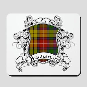 Buchanan Tartan Shield Mousepad