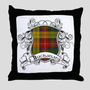 Buchanan Tartan Shield Throw Pillow