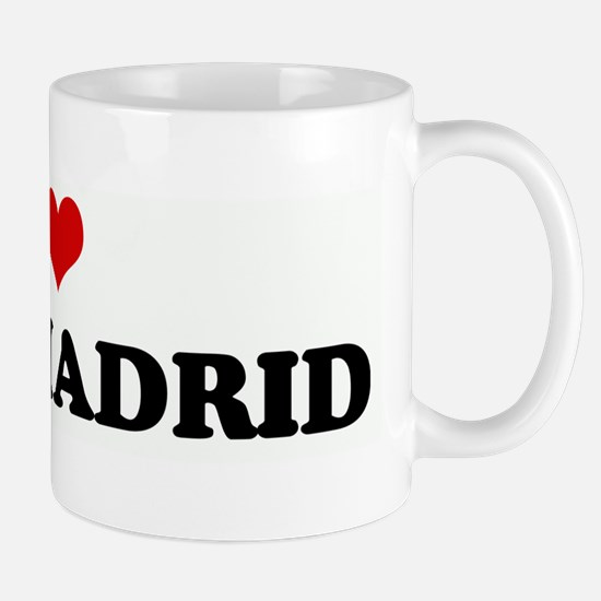 I Love REAL MADRID Mug