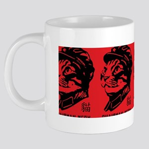 3-meow_coffee 20 oz Ceramic Mega Mug
