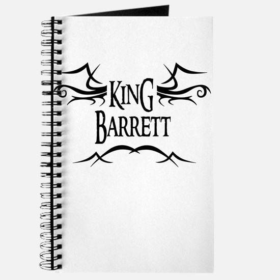 King Barrett Journal