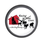 Red Shed Racing Wall Clock