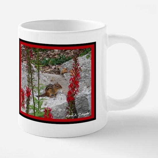 Day 4 Chipmunk 300 20 oz Ceramic Mega Mug
