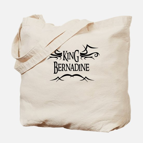 King Bernadine Tote Bag