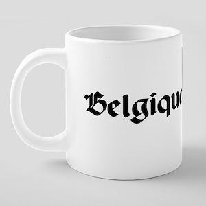 belmug01 20 oz Ceramic Mega Mug
