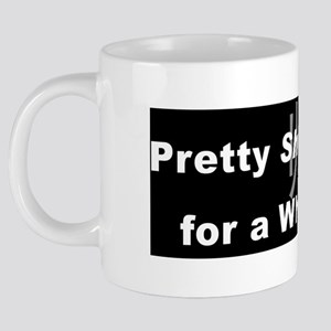 Pretty Shuai for a White Gu 20 oz Ceramic Mega Mug